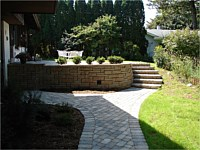 Installed Retaining Wall Projects